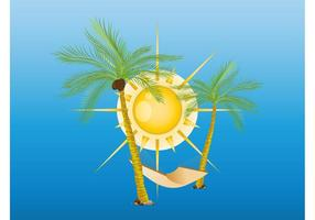 Exotic Palms Vector