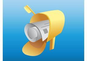 Mailbox-Vektor