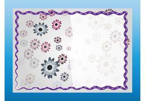 Tarjeta de cumpleaños floral