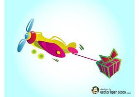 Avión de regalo