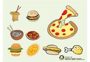 Fast-food-vectors