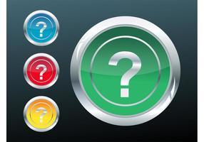 Botões de perguntas