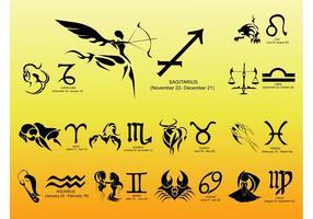 Vetores do zodíaco