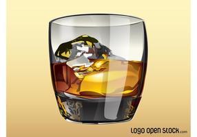 Vidrio del whisky
