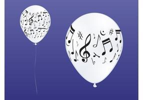 Muziekballonnen