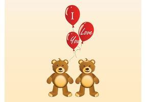 Valentine Teddybären