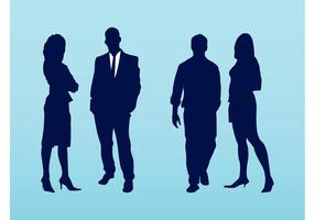 Corporate Vector Silhouettes