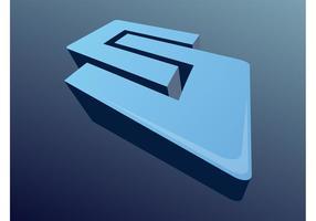 Icône de forme 3D