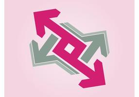Logo de flechas