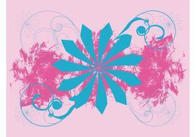 Floral Grunge Layout