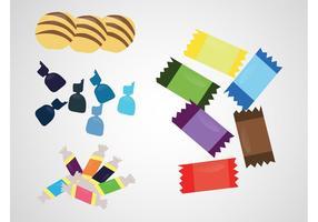 Stapel von Süßigkeiten