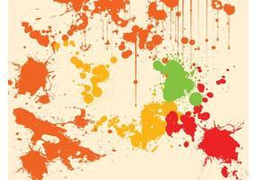 Splatter Bakgrundsvektor