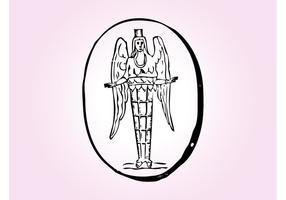 Símbolo del ángel
