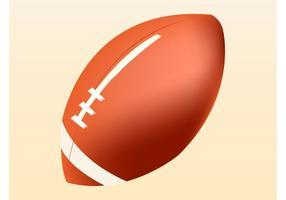 Vector de Pelota de Rugby