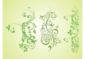 Grüne Pflanzen Vektorgrafiken