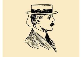 Retro Porträt
