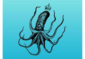 Octopus Met Kroon