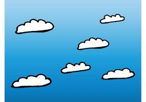 Cartoon wolken