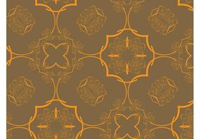 Retro Floral Pattern Vector