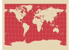 Weltkarten-Hintergrund