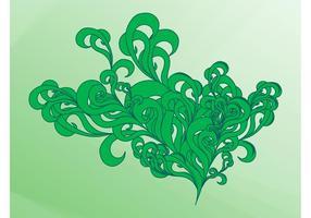 Wirbelnde Pflanzen Grafiken