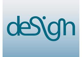 Art de texte de conception