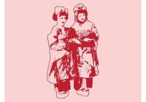 Japanska kvinnor