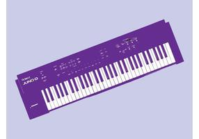 Vetor de teclado