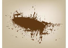 Splatter blob vectoriales