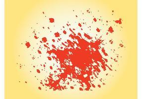 Vetor de splatter de tinta