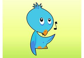 Singing Bird Cartoon