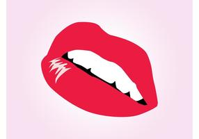 Lippen Vektor