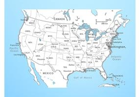 Free Map Of The United States Free Downloads - States map of united states