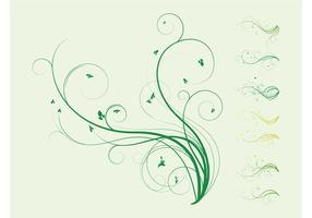 Plant Swirls