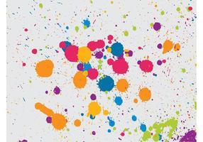Multicolored Splatter