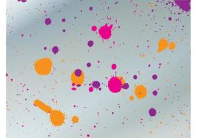 Colorful Grunge Splatter