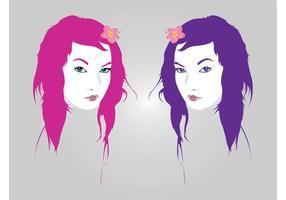 Pretty Girls Vectors