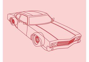 Car-outlines-vector