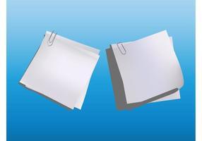 Paper Sheets Vectors