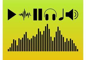 Símbolos de áudio
