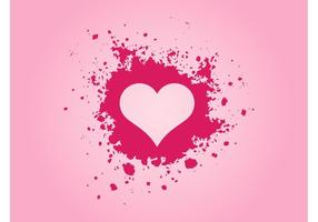 Roze Grunge Hart