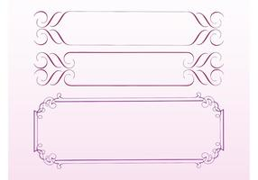 Antique Frames Vectors