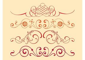 Swirls Vector Designs