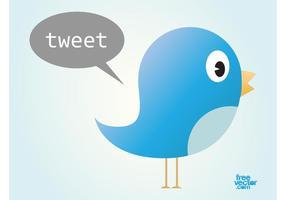 Twitter fågel