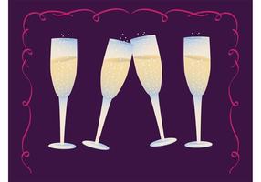 Óculos de Champagne