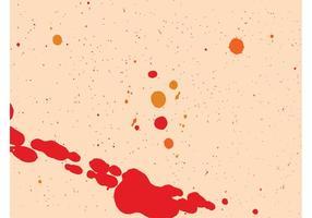 Gráficos coloridos de las salpicaduras