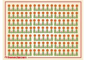 Stylized Flowers Pattern