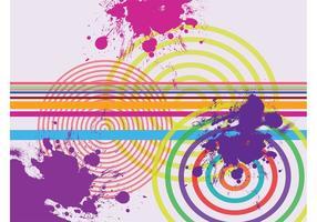 Grunge geometri visuals