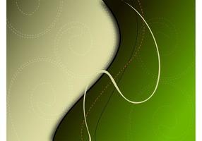 Grüner Strudel Hintergrund
