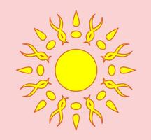Helle Sonne